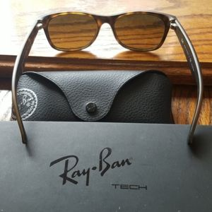 Brand new Ray-Ban tortoise shell Polarized